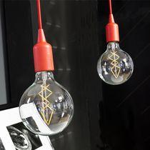 Lampe baladeuse / contemporaine / en ABS / noire