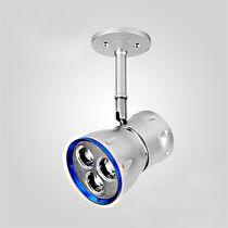 Spot en saillie / à LED / rond / en aluminium anodisé
