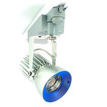 Éclairage sur rail à LED / rond / en aluminium anodisé / pour hôtel