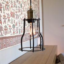 Lampe suspension / contemporaine / en acier / en laiton