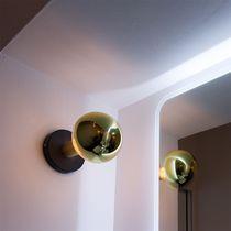 Applique murale contemporaine / en métal peint / à LED / ronde