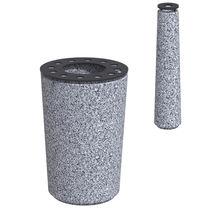 Borne de protection / en acier / en plastique / en granit