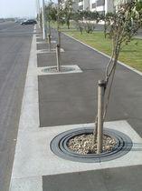 Grille d'arbre en fonte / ronde