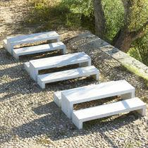 Table de pique-nique contemporaine / en béton armé / pour espace public / professionnelle