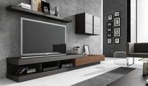 Meuble TV contemporain / modulable / hi-fi / en bois
