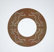 Grille d'arbre en acier galvanisé / en acier COR-TEN® / carrée / ronde