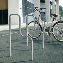 Range-vélo en aluminium / pour espace public