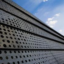 Tôle métallique perforée / décorative / en zinc / pour construction de pont
