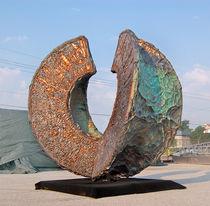 Sculpture en acier / en cuivre / d'aluminium / pour espace public
