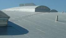 Couverture de toit en inox / ondulée