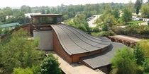 Couverture de toit en cuivre / à joints debout / nervurée