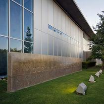 Mur-rideau en panneau / en aluminium et verre