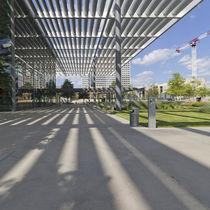 Auvent pour bâtiment tertiaire / en aluminium / professionnel