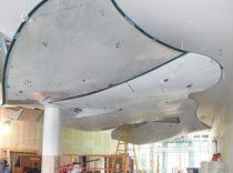 Faux-plafond en aluminium / en îlot / décoratif