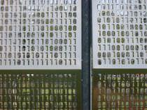 Bardage en aluminium / en inox / perforé / en panneaux