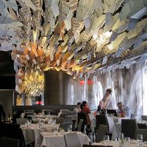 Faux-plafond en aluminium / en panneaux / décoratif / imprimé