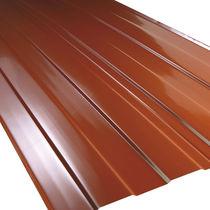 Plaque de toiture en aluminium / en cuivre / en polyester