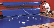 Revêtement de sol en PVC / pour activité sportive / en rouleau / lisse