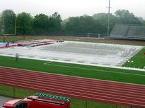 Revêtement de sol en PVC / pour activité sportive / en rouleau / mat