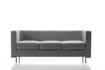 Canapé contemporain / en tissu / pour établissement public / professionnel