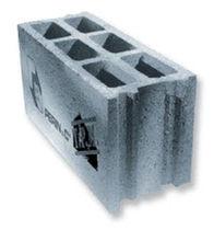 Bloc de béton creux / pour mur / acoustique