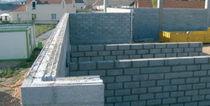 Bloc de béton creux / pour mur porteur