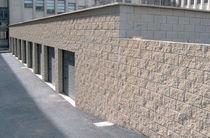 Bloc de béton creux / pour mur porteur / haute performance / apparent