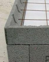 Bloc coffrant en béton / pour plancher