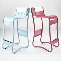 Chaise haute standard / en métal / à usage professionnel / pour restaurant