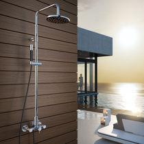 Colonne de douche professionnelle / avec douche à main