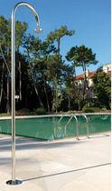 Douche de jardin de piscine / en acier inoxydable