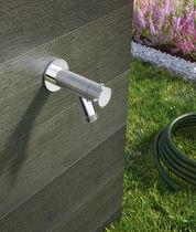 Robinet pour fontaine / mural / en acier / de jardin