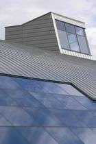 Couverture de toit en zinc / ondulée / étanche
