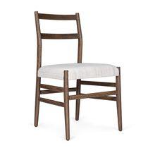 Chaise classique / tapissée / en bois