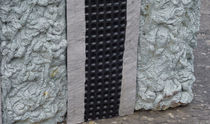 Géocomposite de drainage / en polyéthylène / pour mur