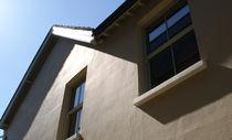 Fenêtre à guillotine / en bois / à double vitrage / à coupure thermique