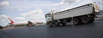 Revêtement de sol en asphalte / routier / texturé / aspect pierre
