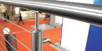 Garde-corps d'intérieur / en métal / en câble / pour escalier