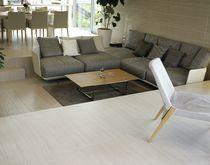 Revêtement de sol en céramique / résidentiel / en dalle / lisse