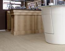 Revêtement de sol en céramique / professionnel / en dalle / brillant