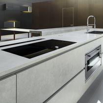 Plan de travail en céramique / professionnel / de cuisine / résistant à la chaleur