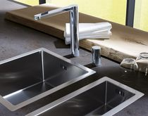 Panneau décoratif pour agencement intérieur / pour cuisine / en céramique / à effet dimensionnel