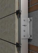 Système de fixation aluminium / pour bardage / pour façade ventilée / pour extérieur