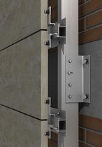 Système de fixation en acier inox / aluminium / pour bardage / pour façade ventilée