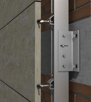 Système de fixation en acier inox / pour bardage / pour façade ventilée / pour extérieur