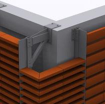 Système de fixation en métal / pour bardage / pour façade ventilée / pour extérieur