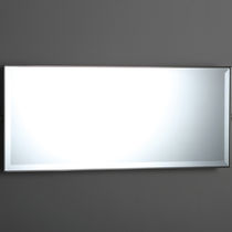 Miroir mural / de style / rectangulaire / pour chambre d'hôtel