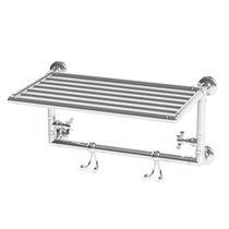 Sèche-serviettes électrique / en métal / classique / horizontal