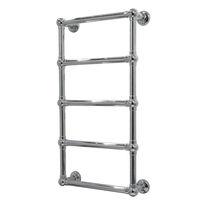 Sèche-serviettes à eau chaude / en métal / classique / vertical