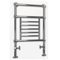 Sèche-serviettes à eau chaude / en métal / classique / horizontal